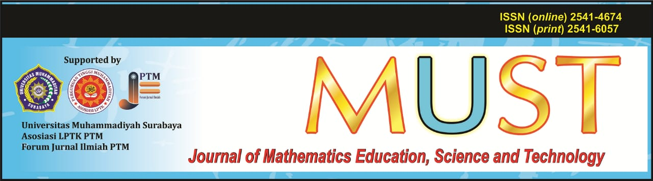 Journal of Mathematics Education, Science and Technology